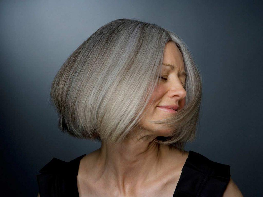 How to Make My Grey Hair Shinier