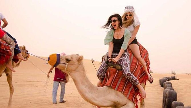 desert safari tour in Abu Dhabi
