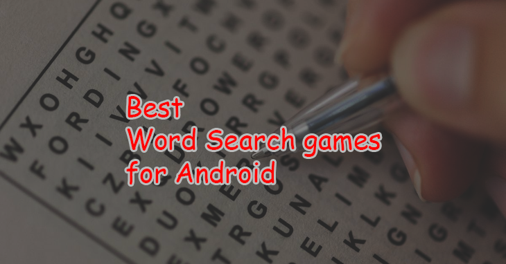 best Word Search Games for Android