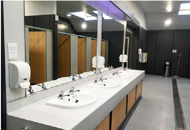 How to Maintain Clean Restrooms in Office Buildings