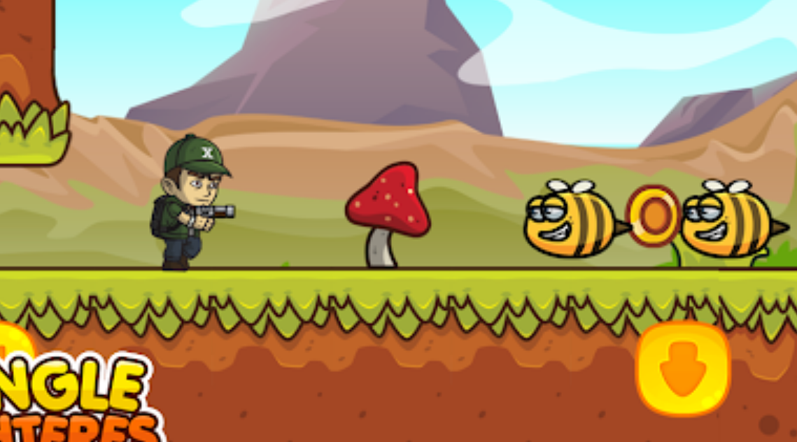 Play Jungle Fighters Quest - Run, Jump, and Kill Enemies