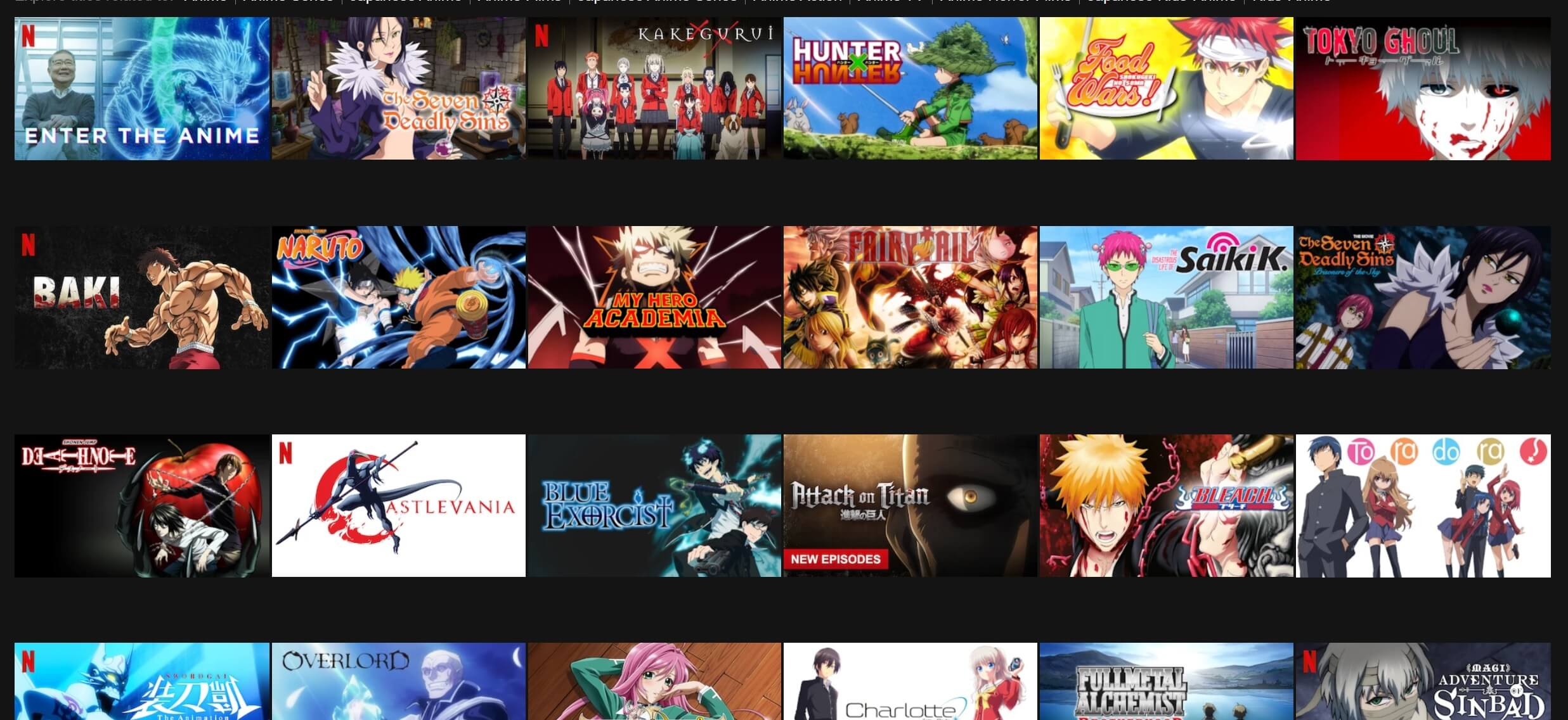 Top Trending Apps to Watch Anime