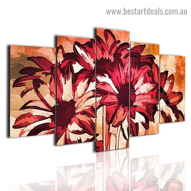 5 piece canvas wall art sets