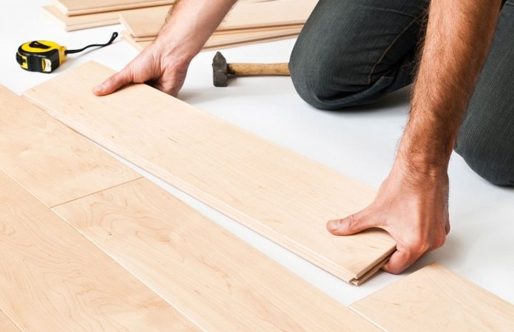 how to install parquet flooring