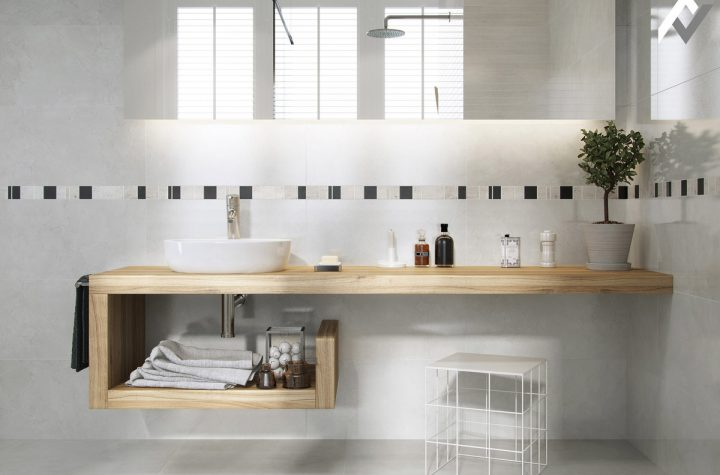 What are the main types, materials, and  shapes of bathroom vanities?
