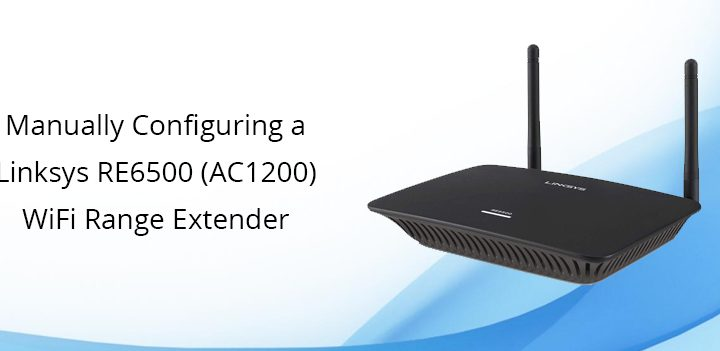 How to Access the Linksys RE6500 Setup Page Using 192.168.1.1